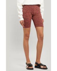 Paloma Wool Alfonsina Knitted Cycling Shorts - Pink