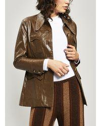 Rejina Pyo - Olivia Vegan Leather Jacket - Lyst