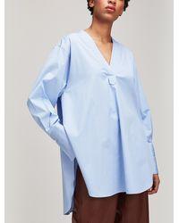 JOSEPH - Eamon Oversized Cotton Shirt - Lyst