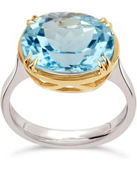 Dinny Hall - Silver Cassiopeia Topaz Ring - Lyst