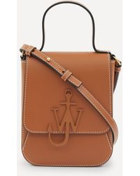 JW Anderson Top Handle Anchor Bag - Brown