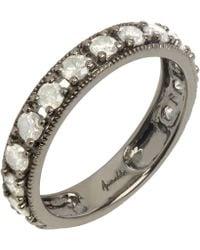 Annoushka - 18ct White Gold Dusty Diamonds Icy Diamond Eternity Ring - Lyst