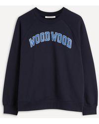 WOOD WOOD Hope Ivy Sweatshirt - Blue
