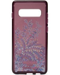Liberty X Tech21 Pure Print Shangri-la Samsung 10s Case - Red