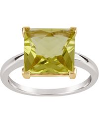 Dinny Hall - Silver And Gold Gabi Oro Verde Ring - Lyst