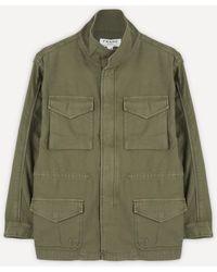 FRAME Service Military Jacket - Green