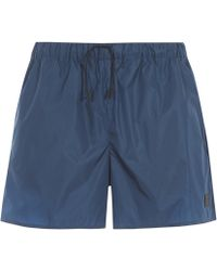 Acne Studios - Perry Face Swim Shorts - Lyst