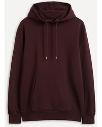 COLORFUL STANDARD Classic Organic Cotton Hoodie - Red