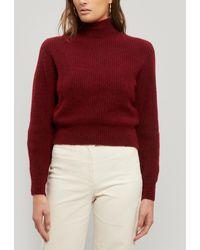 Paloma Wool Himalaya Turtleneck Knitted Jumper - Pink