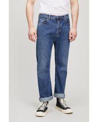 Acne Studios - Land Mid-blue Jeans - Lyst