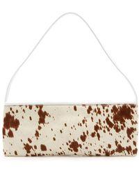 Paloma Wool Fantasia Ii Leather Baguette Bag - White