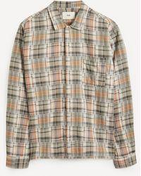 Folk Patch Pocket Check Shirt - Multicolour