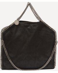 Stella McCartney Falabella Faux Leather Fold-over Tote Bag - Black