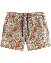 Liberty Relaxed Maxine Swim Shorts - Multicolour