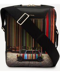 Paul Smith Mini Cooper Print Flight Bag - Multicolour
