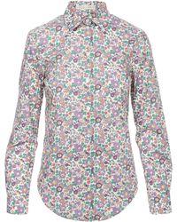 Liberty - Bryony Cotton Shirt - Lyst
