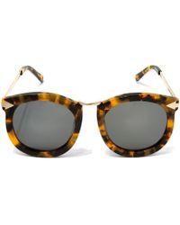 Karen Walker - Havana Super Lunar Sunglasses - Lyst