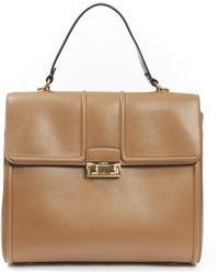 Lanvin Tall Jiji Medium Top Handle Tote Bag - Multicolour