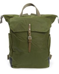 Ally Capellino - Ashley Waxed Cotton Utility Rucksack - Lyst