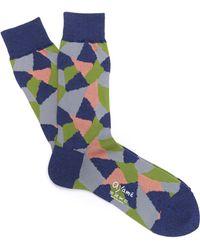 Ayamé - Multi Triangle Socks - Lyst
