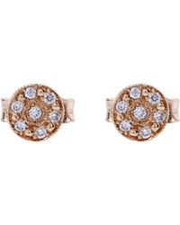 Brooke Gregson - Mini Mars Rose Stud Earrings - Lyst