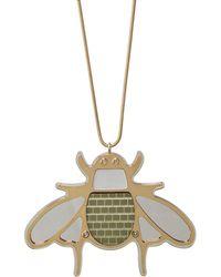 Diana Broussard - Buzz Grande Bee Necklace - Lyst