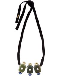 Marni - Resin Ribbon Necklace - Lyst