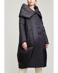 Crea Concept - Button Puffer Jacket - Lyst