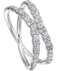 Astley Clarke White Gold Fusion Interstellar Diamond Ring - Metallic