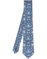 Liberty - Lodden Print Silk Tie - Lyst