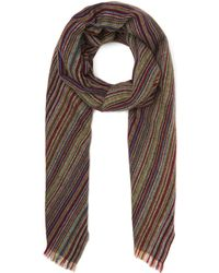 Paul Smith - Signature Stripe Lambswool Scarf - Lyst