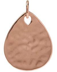 Monica Vinader Rose Gold-plated Ziggy Petal Pendant - Pink