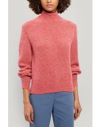 Paloma Wool Himalaya Turtleneck Knitted Sweater - Pink