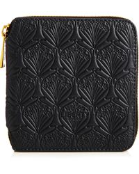 Liberty - Small Wallet In Embossed Leather - Lyst