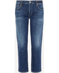 Citizens of Humanity Emerson Slim-fit Boyfriend Jeans - Blue