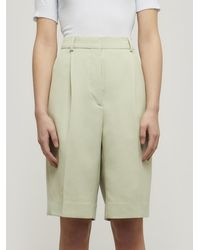 Acne Studios Suit Shorts - Green