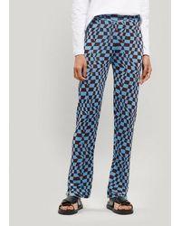 Paloma Wool Orinocco Knitted Pants - Blue