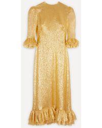 The Vampire's Wife The Falconetti Dress - Yellow