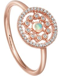 Astley Clarke Medium Icon Nova Opal Ring - Multicolour