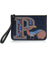 Liberty Wristlet In P Print - Multicolour