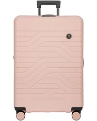 Bric's B|y Ulisse Small Expandable Carry-on Trolley Suitcase - Pink