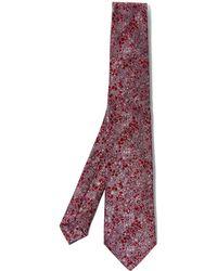 Liberty Phoebe Print Silk Tie - Multicolour