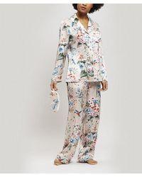 Liberty Keiko Silk Charmeuse Pajama Set - Pink