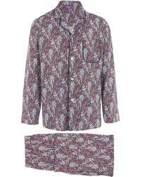 Liberty - Elegance Long Tana Lawn Cotton Pyjama Set - Lyst