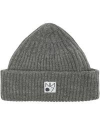 NN07 - Ribbed Wool Beanie - Lyst