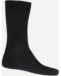Pantherella Waddington Cashmere-blend Socks - Multicolour