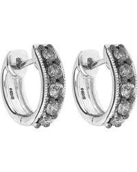 Annoushka - Dusty Diamond Amethyst Earrings - Lyst