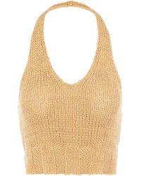 Paloma Wool Bien V-shaped Knit Top - Multicolour