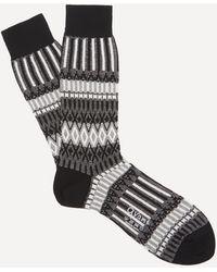Ayamé C53 Basket Lunch Socks - Black