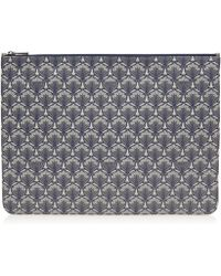 Liberty - Large Pouch In Iphis Canvas - Lyst